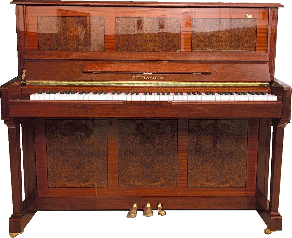 塞德尔钢琴C126楠木纹亮光