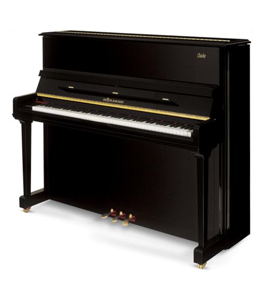 塞德尔钢琴c123白色