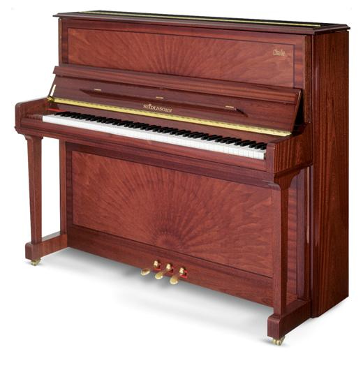 塞德尔钢琴C123 孔雀纹