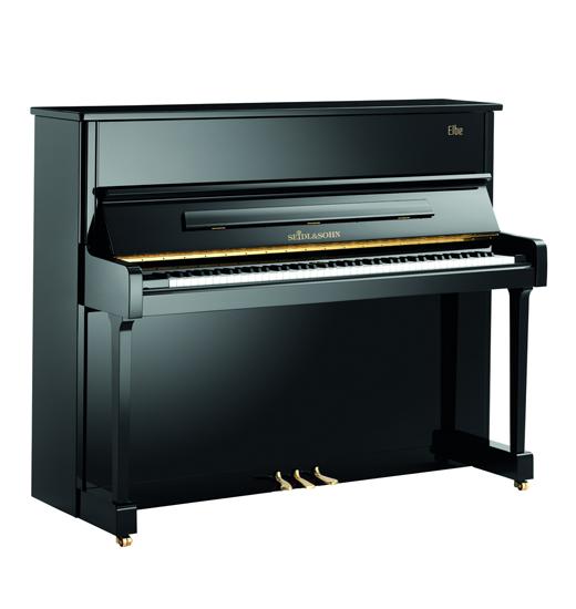 塞德尔钢琴E121白色