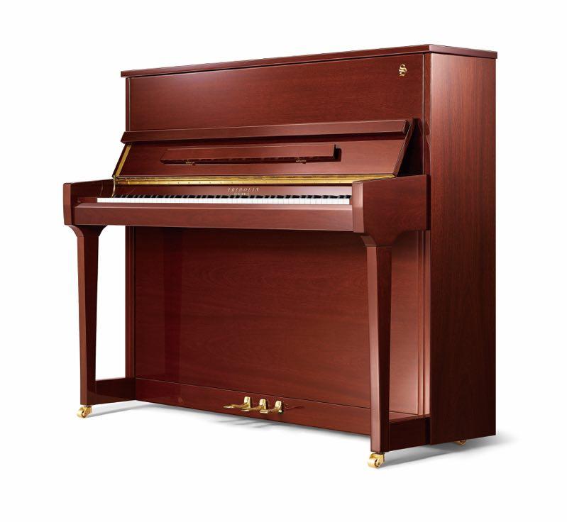 舒密尔钢琴F121胡桃木色