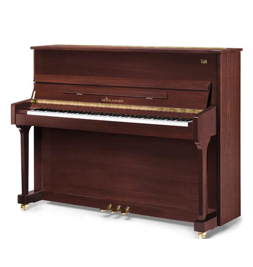塞德尔钢琴T122 云母红