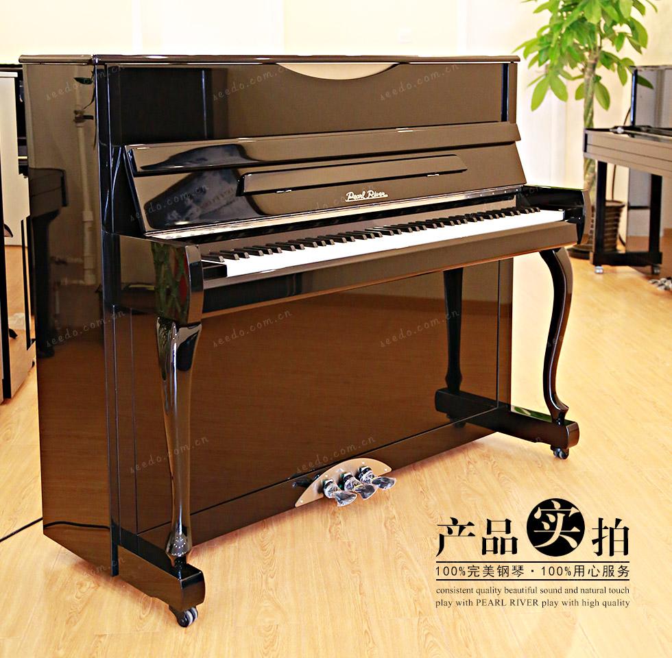 珠江JY122钢琴的产品实拍