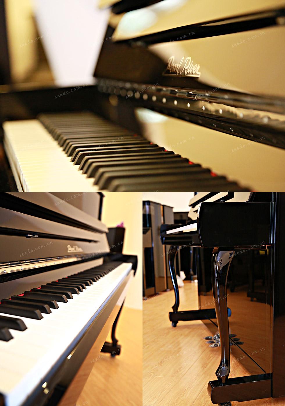 珠江JY122钢琴的工艺细节