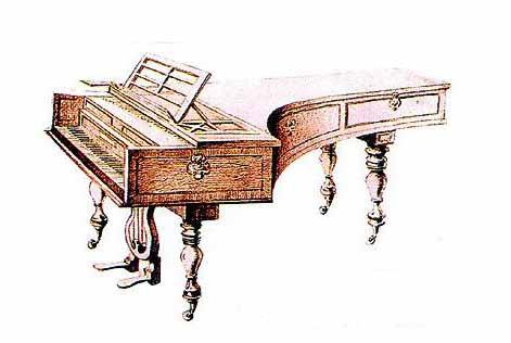 钢琴的起源及其发展图片