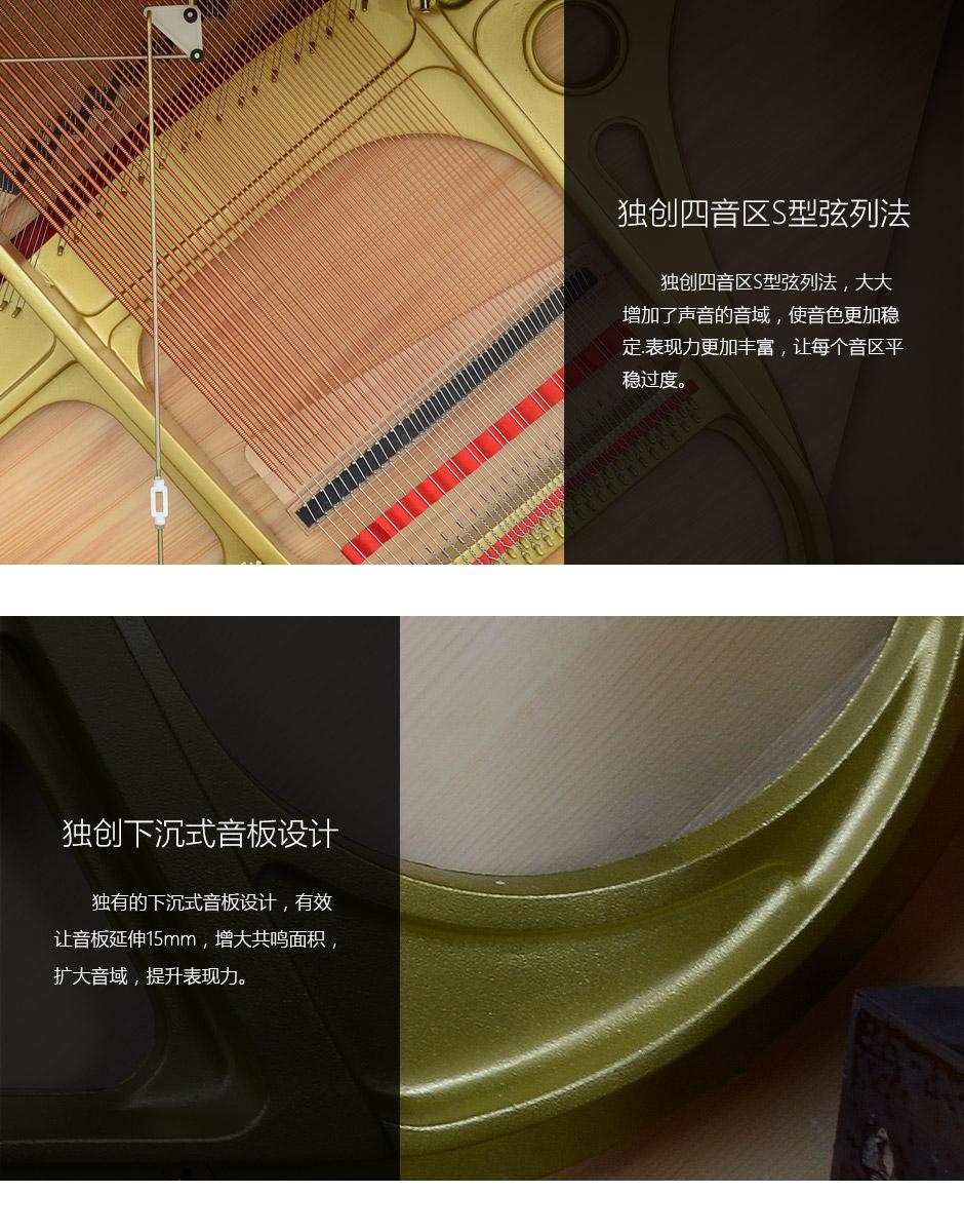 舒密尔Fridolin 钢琴F121图片